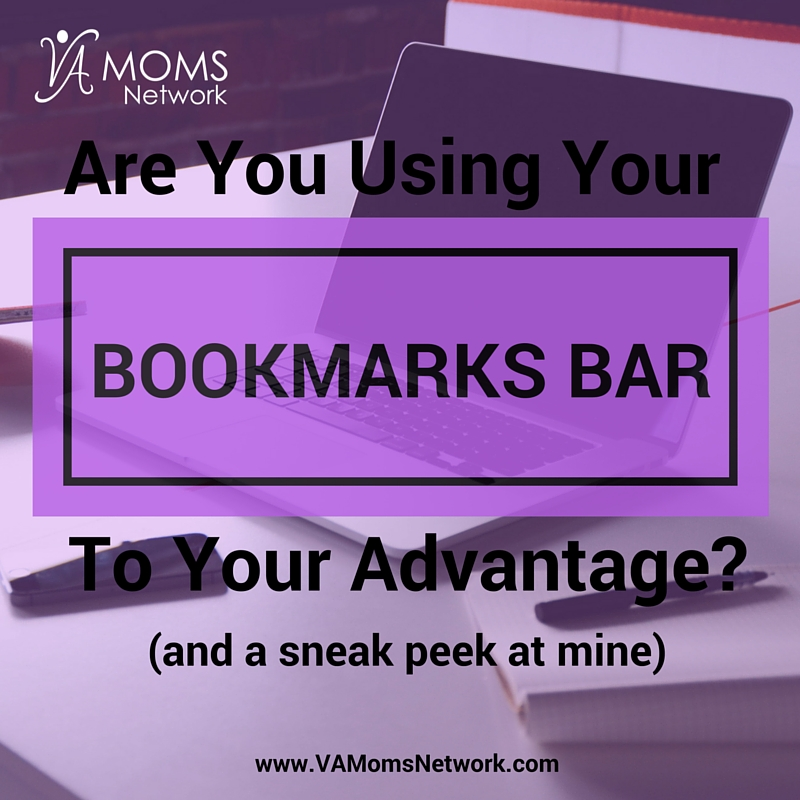 How to Use Your Bookmarks Bar to Your Advantage