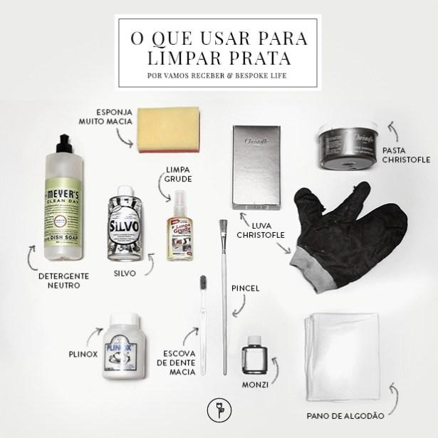 Como Limpar Prata