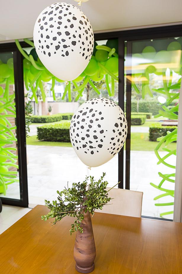 baloes de animal print Guacirema Baloes