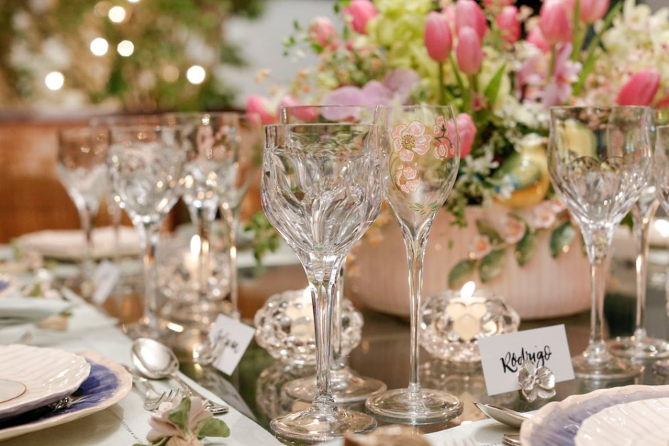 mesa romântica para o dia dos namorados
