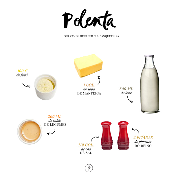 receita de polenta a banqueteira