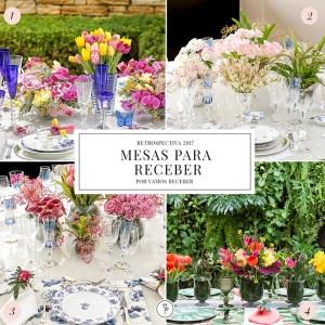 mesas decoradas para receber