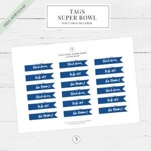 tags para super bowl