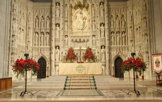 Altar igreja católica