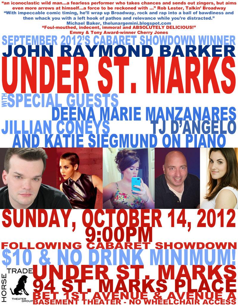 Under St. Marks