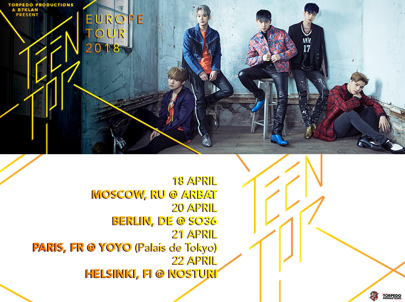 teen top tour europeo