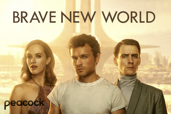 Brave New World promotional poster