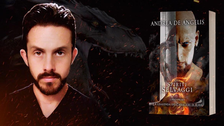 Andrea de angelis con cover la leggende dei cavalieri di asha gli spititi selvaggi