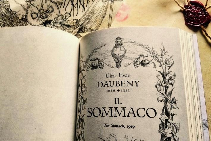 Il Sommaco di Ulric Evan Daubeny
