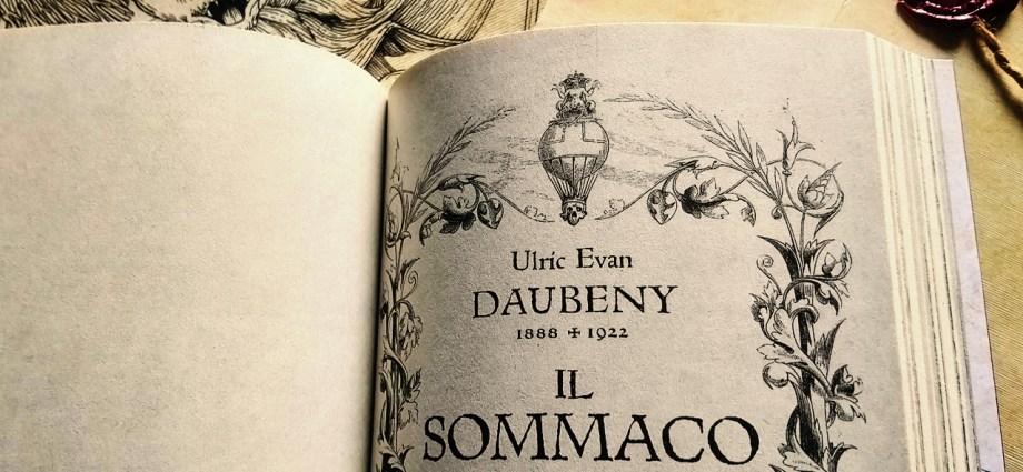 Il Sommaco di Ulric Evan Dauberry – Draculea pagina introduttiva