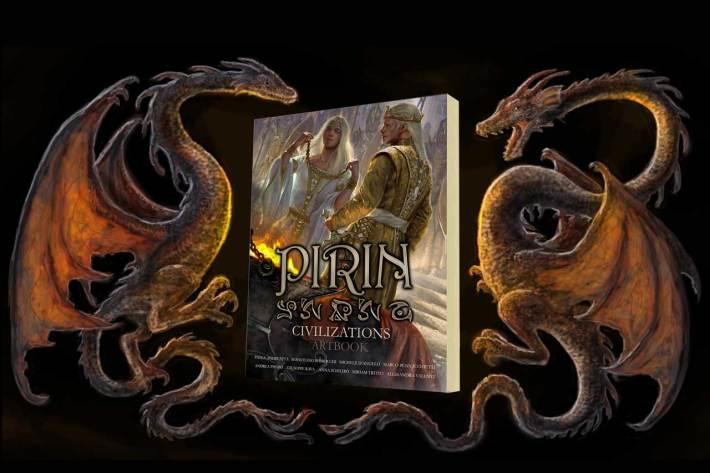 pirin artbook copertina