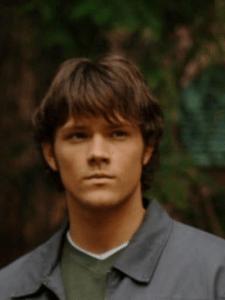 Jared Padalecki as Sam Winchester in the first season of Supernatural