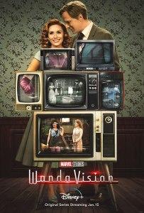 WandaVision promotional poster by Disney+