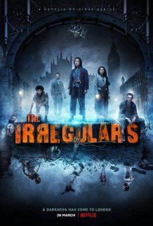 McKell David, Thaddea Graham, Harrison Osterfield, Jojo Macari, and Darci Shaw in The Irregulars (2021)