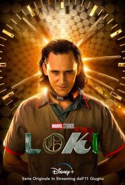 Tom Hiddleston in Loki (2021) - Poster Italia