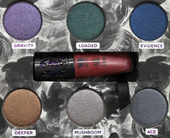 Urban Decay Dangerous Palette 3 Urban Decay Feminine, Dangerous & Fun Palettes for Holiday 2012 Swatches & Photos
