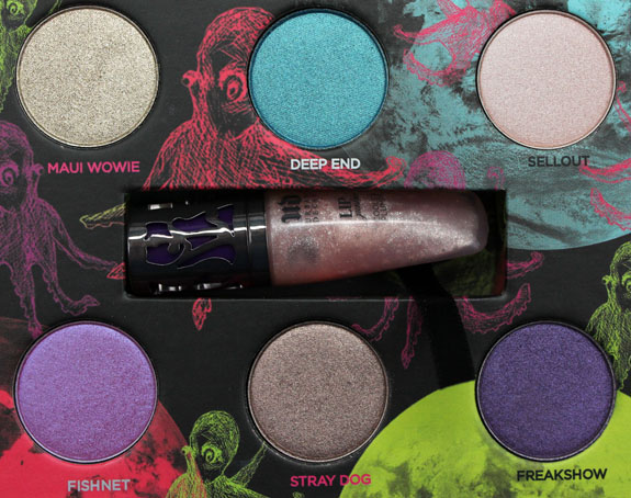 Urban Decay Fun Palette 3 Urban Decay Feminine, Dangerous & Fun Palettes for Holiday 2012 Swatches & Photos
