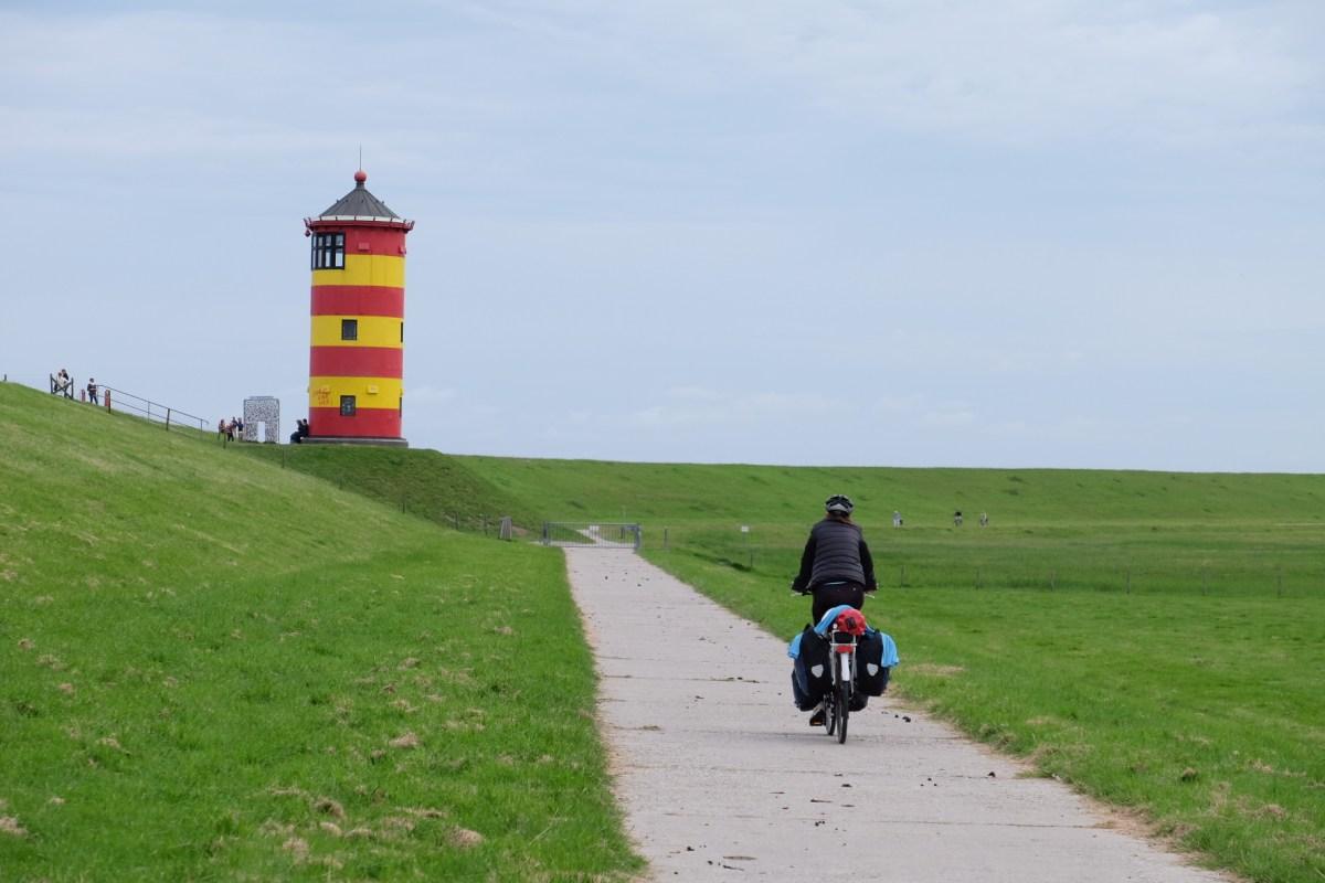 Nordseeküsten-Radweg Tag 13: Von Campen nach Norddeich