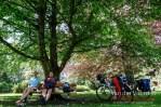 Picknick im Kurpark Garmisch