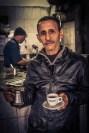 Café in Alexandria. Wartezeit überbrücken.