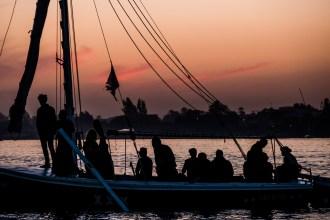 Videodreh auf dem Nil