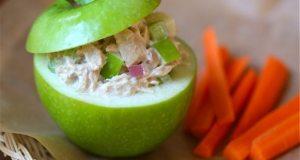 rillette de thon à la pomme verte