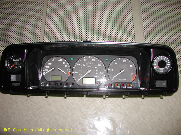 Custom Vanagon Instrument Cluster Vanagon Hacks Amp Mods