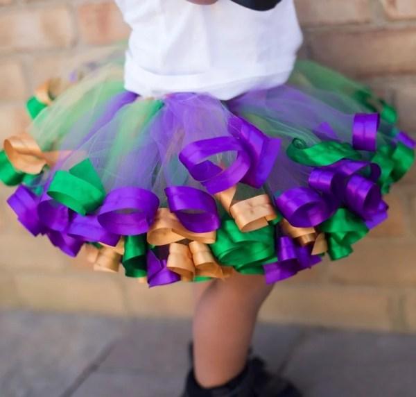 3 layer tutu skirt girl