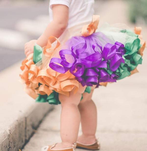 baby mardi gras outfit