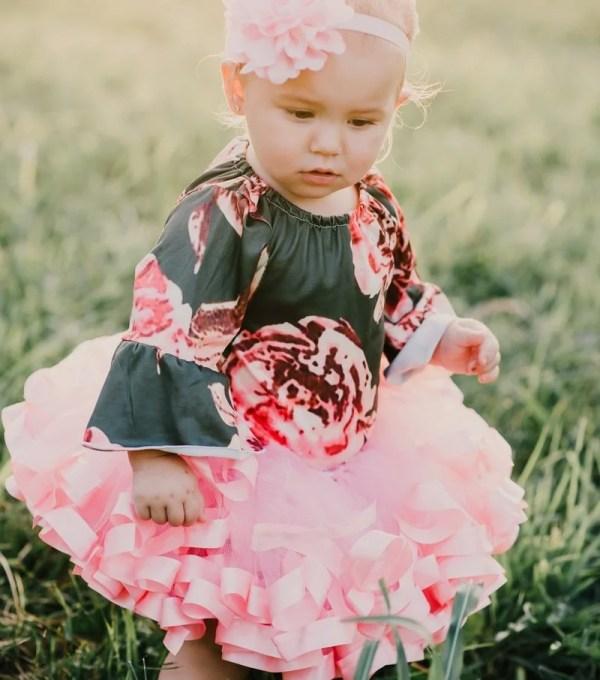 fancy dress pink tutu skirt