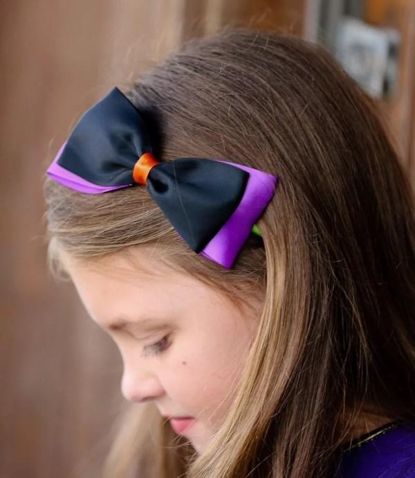 headband with big bow