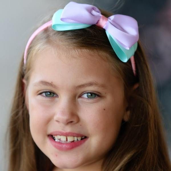 little girls headbands with bows