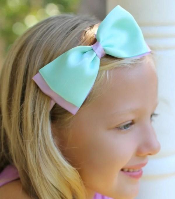 pastel blue headband