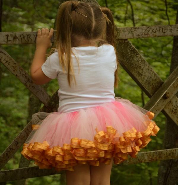 pink and gold baby tutu