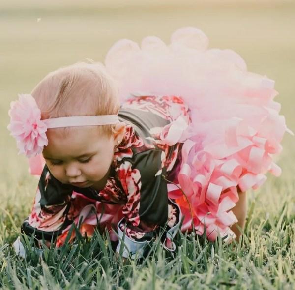 pink ballerina tutu skirt