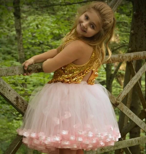 pink tutu ballerina