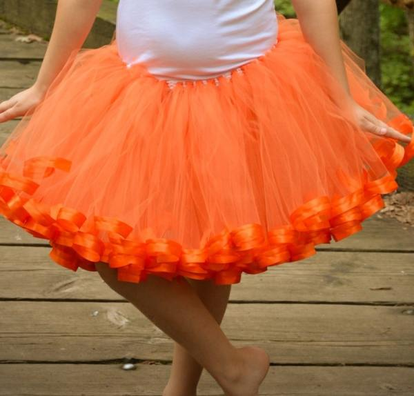 pumpkin tutu outfit