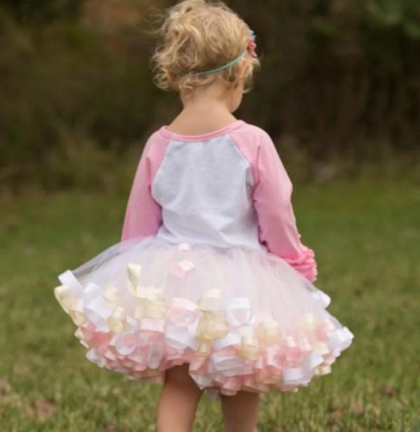 tutu gown flower girl