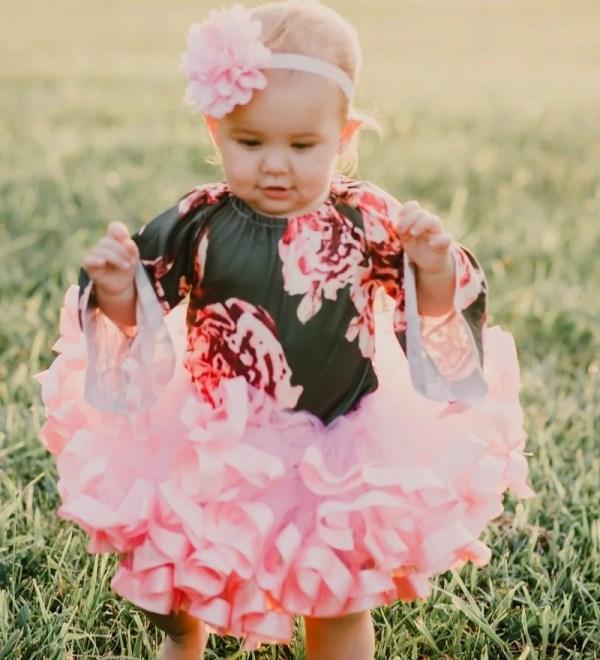 tutu pink dress
