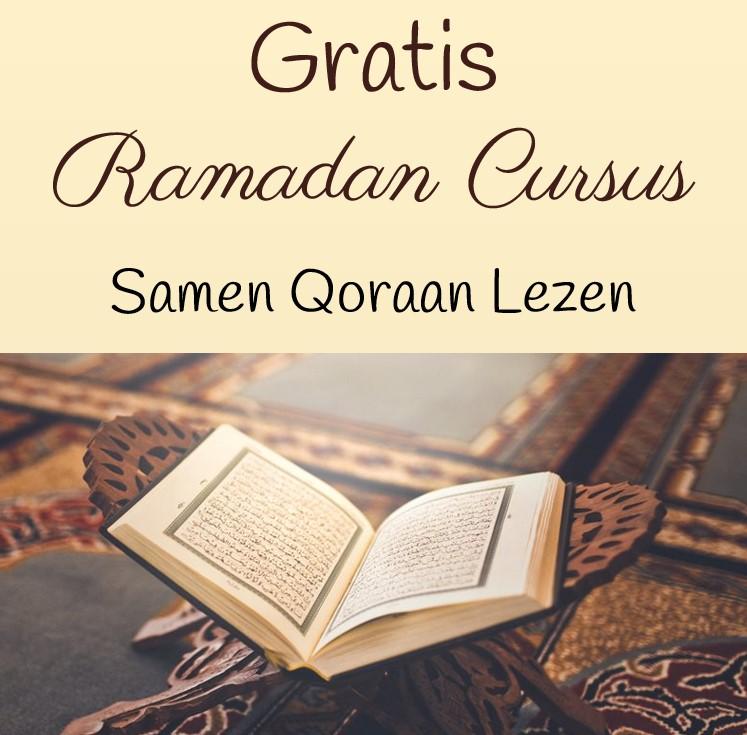 gratis ramadan cursus qoraan lezen van alif tot arabisch