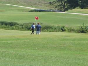 Golfers at the Bridges viewed from Running Deer - Gunter,TX