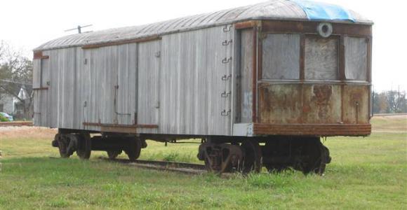 Old Interurban Car - Van Alstyne,TX - Photo Keith Laursen