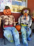 Diamonds Grocery Scarecrows