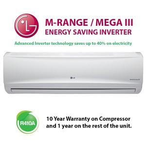 LG M-RANGE - MEGA III M096EH midwall split