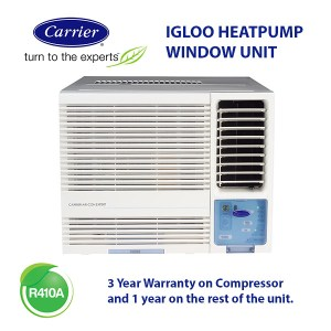22500 BTU CARRIER IGLOO (WRA-24HG) window air conditioning unit (R410A)
