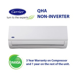 12000 BTU CARRIER QHA35N ALLEGRO midwall split
