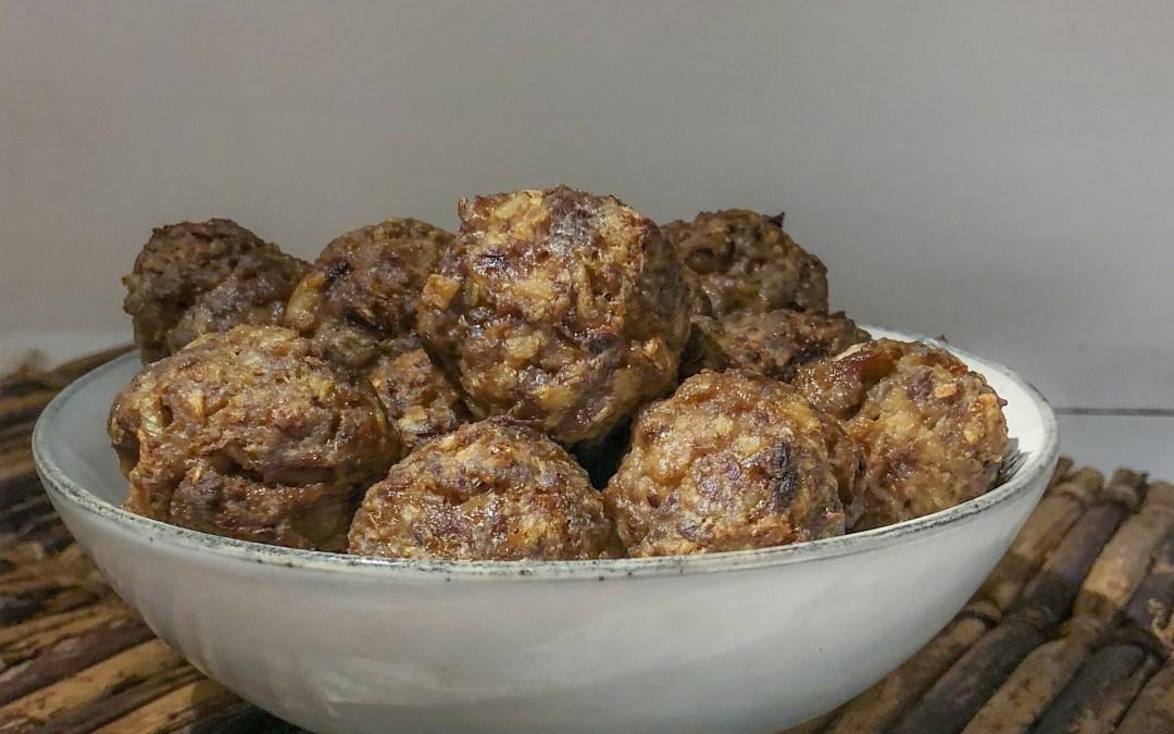Meatballs met verrassing