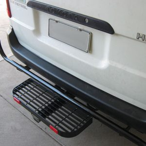 Rear steps and Light protectors