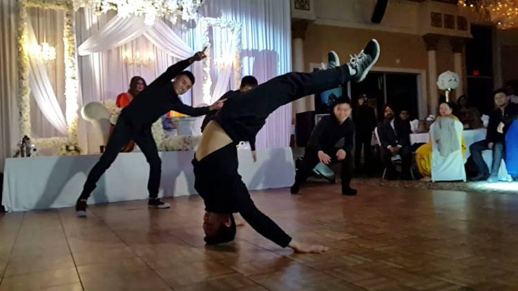 Changster Bboy Show For Weddings