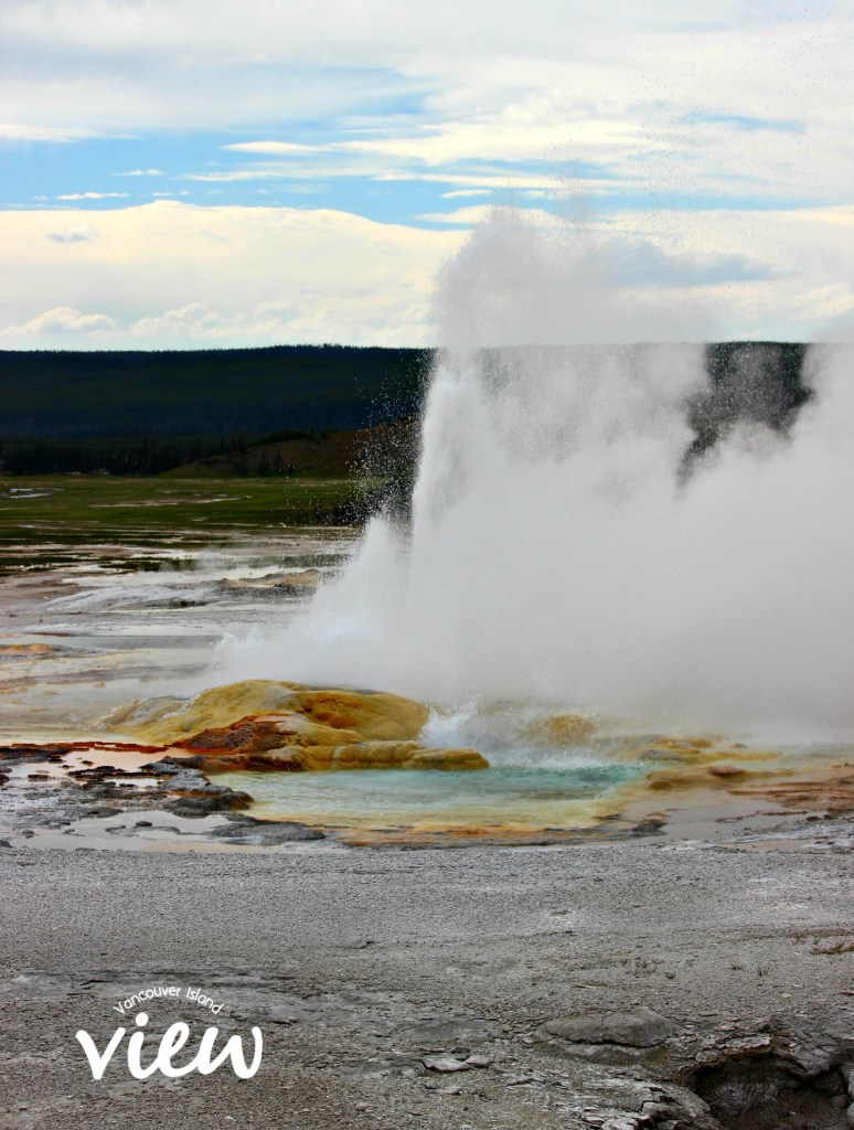 Geyser - Yellowstone National Park highlights, and tips and tricks on making the most of your trip.
